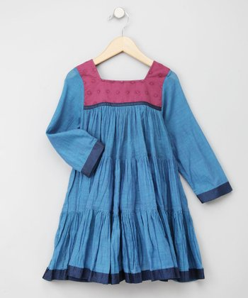 Masala Baby - Teal Blue Gypsy Dress