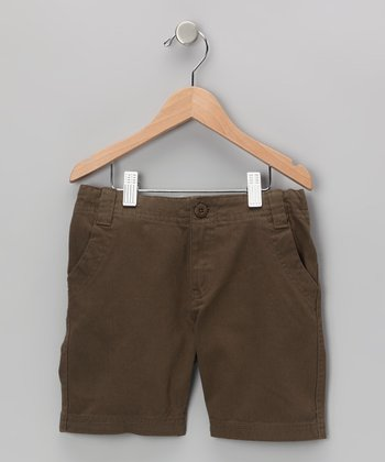 Brown Shorts - Toddler & Boys