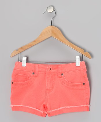 Neon Orange Candy Shorts