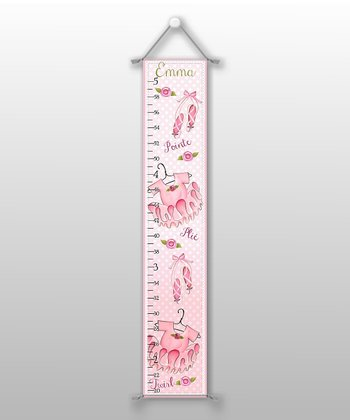 Ballerina Personalized Growth Chart
