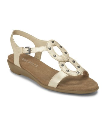 White Pearl Atomic Sandal