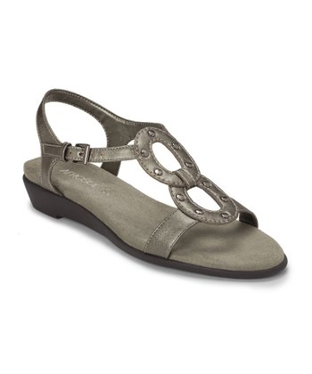 Silver Metallic Atomic Sandal
