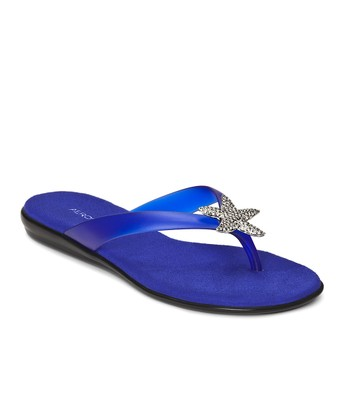 Bright Blue Beach Chlub Flip-Flop