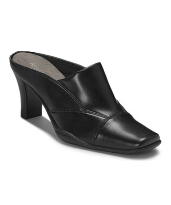 Black Cincture Mule