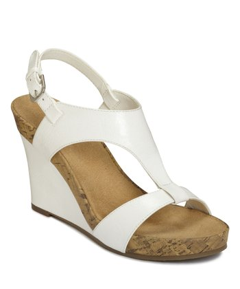 White Plush Above Wedge