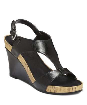 Black Plush Above Wedge