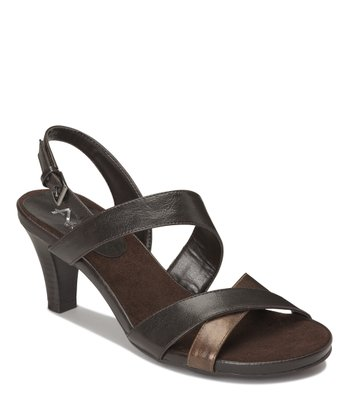 Dark Brown Powpyrus Sandal