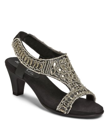 Black Wild Fire Sandal