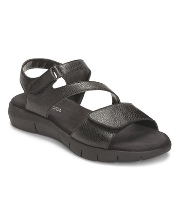 Black Wip Zone Sandal