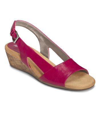Dark Pink Yet Alone Slingback