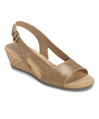 Light Tan Yet Alone Slingback