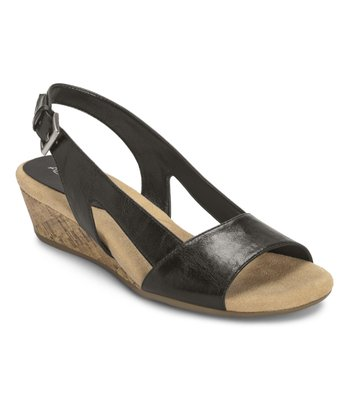 Black Yet Alone Slingback