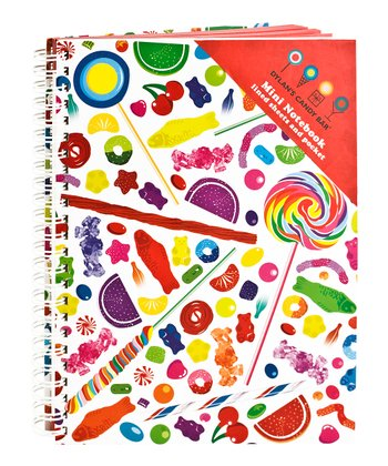 Candy Spill Mini Notebook