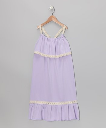 Lavender Maxi Dress - Toddler & Girls