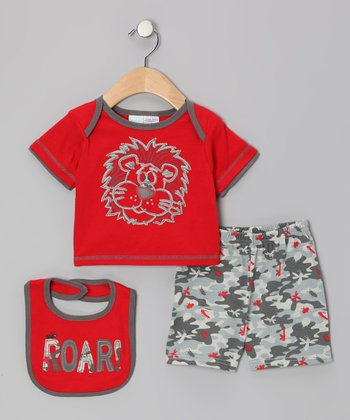 Red Lion Tee Set