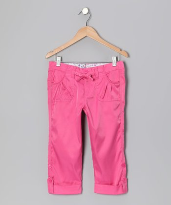 Pink Capri Pants - Girls