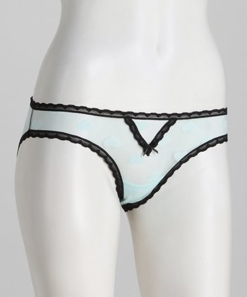 Betty Blue Heartbeat Bikini Briefs