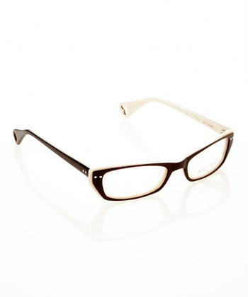 Betsey Johnson Espresso Chic Eyeglasses