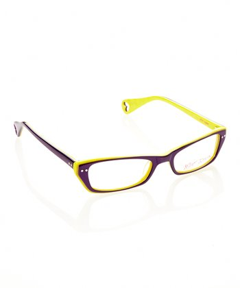 Betsey Johnson Violet Chic Eyeglasses