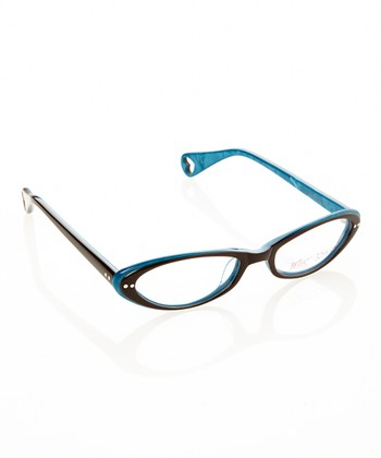 Betsey Johnson Espresso J'Adore Eyeglasses