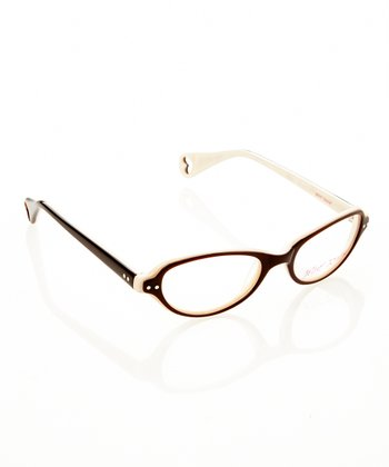 Betsey Johnson Espresso Belle Eyeglasses