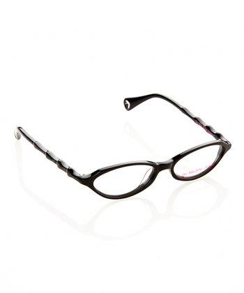Betsey Johnson Raven Itsy Bitsy Purr-fect Eyeglasses