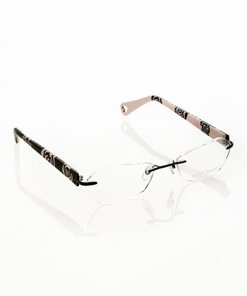Betsey Johnson Raven Petal Pusher Eyeglasses