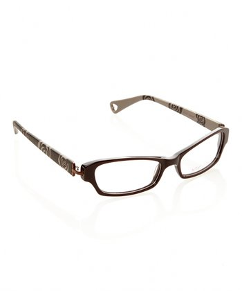 Betsey Johnson Espresso Rosie Chic Eyeglasses