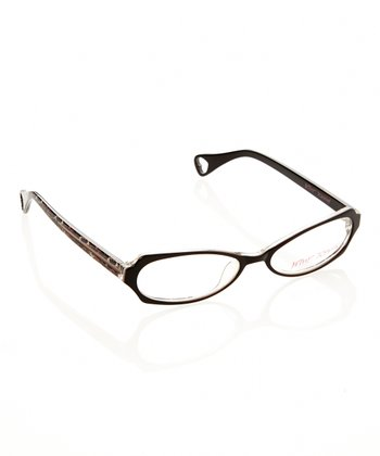 Betsey Johnson Espresso Jungle Princess Eyeglasses