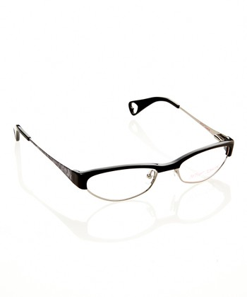 Betsey Johnson Raven Cutie Pie Eyeglasses