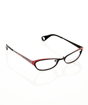Betsey Johnson Raven Itsy Bitsy Fancy Eyeglasses