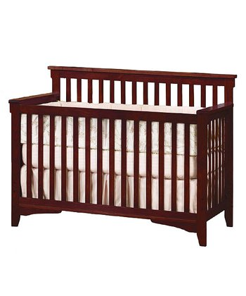 Oak Rose Valley Lifetime Convertible Crib