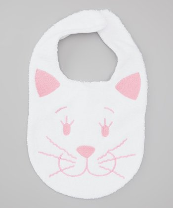 Pink Kitty Bib