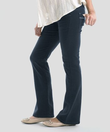 Black Denim Maternity Jeans