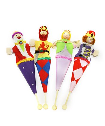 Royal Kingdom Pop-Up Puppets