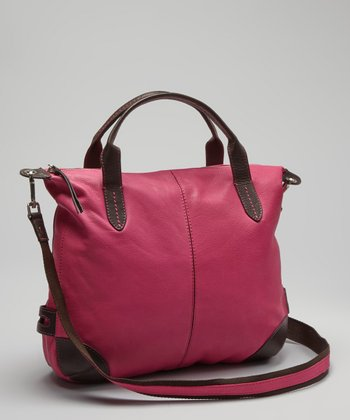 Fuchsia Hampton Crossbody Bag