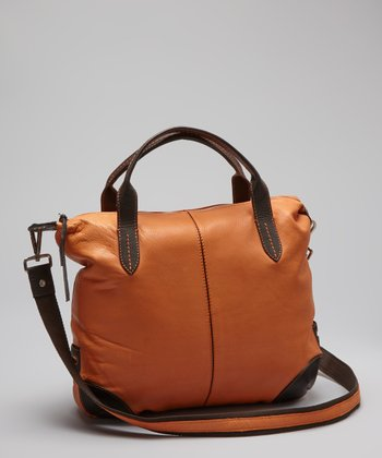 Orange Hampton Crossbody Bag