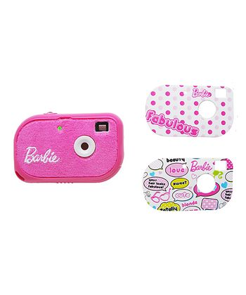 Barbie Fabulous Fuzzy Digital Camera
