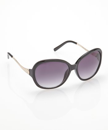 Black Jackie O Sunglasses