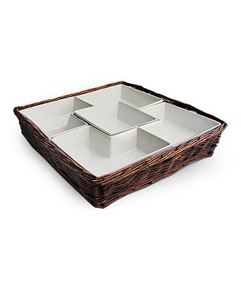 Willow Square Chip & Dip Server