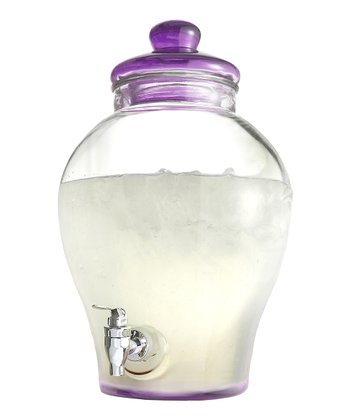 Purple Sanford 1.6-Gal. Beverage Dispenser