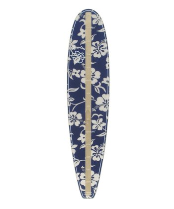 Blue Hibiscus Surfboard Growth Chart