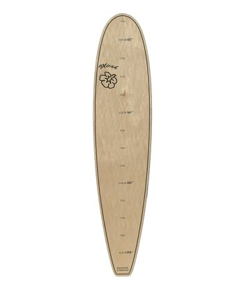 Natural Surboard Growth Chart