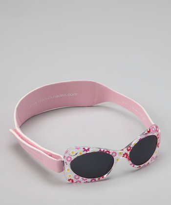 Pink Daisy Sunglasses & Strap - Toddler & KIds