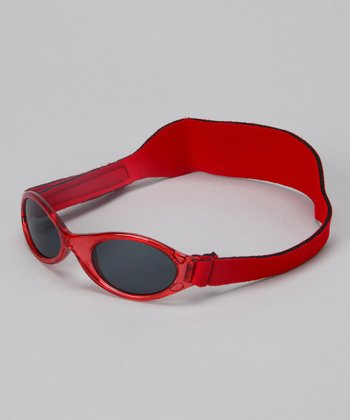 True Red Translucent Sunglasses