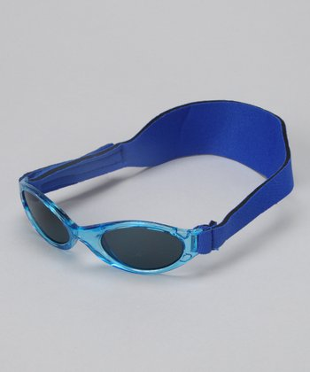 Royal Blue Translucent Sunglasses