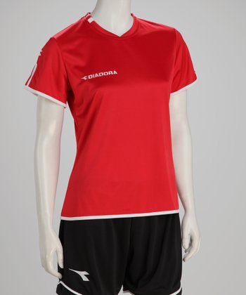 Red Valido Jersey - Women