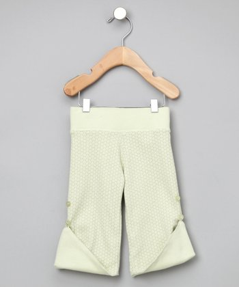 Dusty Moss Reversible Organic Pants - Infant