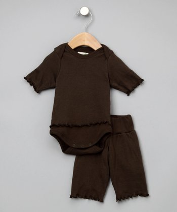 Bark Organic Yoga Pants & Bodysuit - Infant