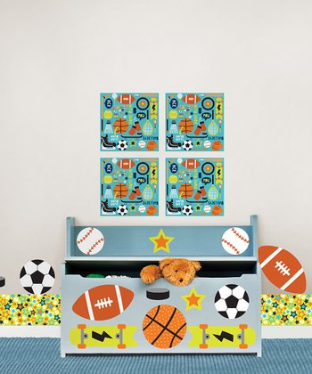 Junior Varsity Blox Wall Decal Set